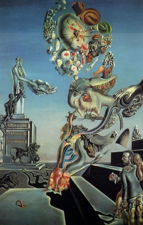 Žalosna igra, Salvador Dali