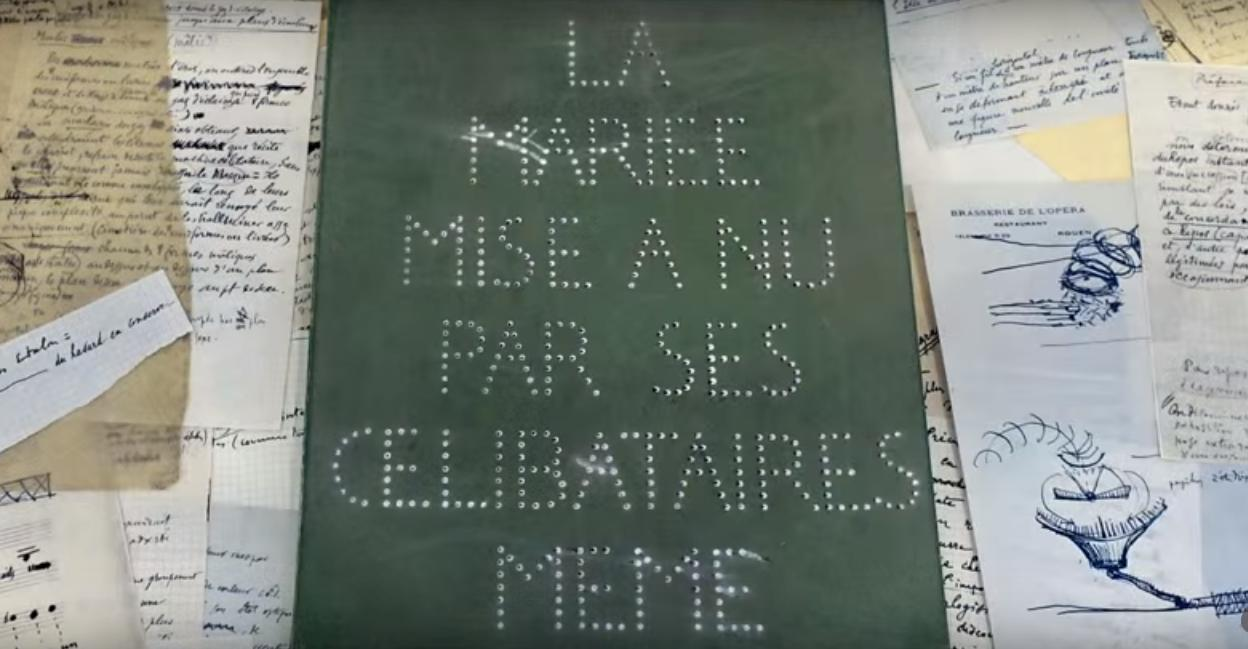 "Duchampova ""zelena kutija"" uz Veliko staklo Smarthistory art history conversation"
