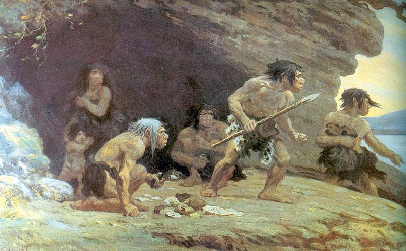 """Le Moustier, """"Neandertalci"""""""