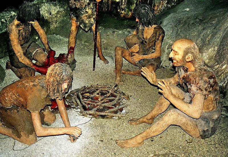 Neandertalci u pećini