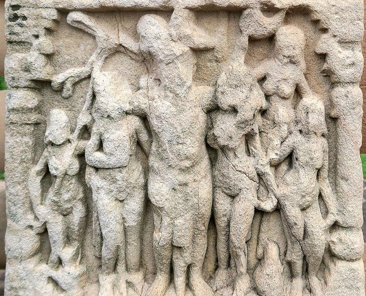 Prikaz Ašoke na stupi u Sanchiju