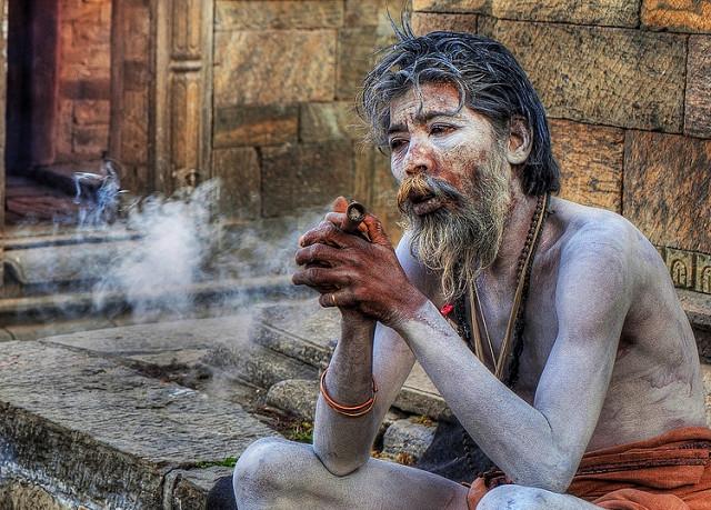 Pušenje ganje iz čiluma