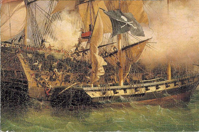 Slika piratskog napada