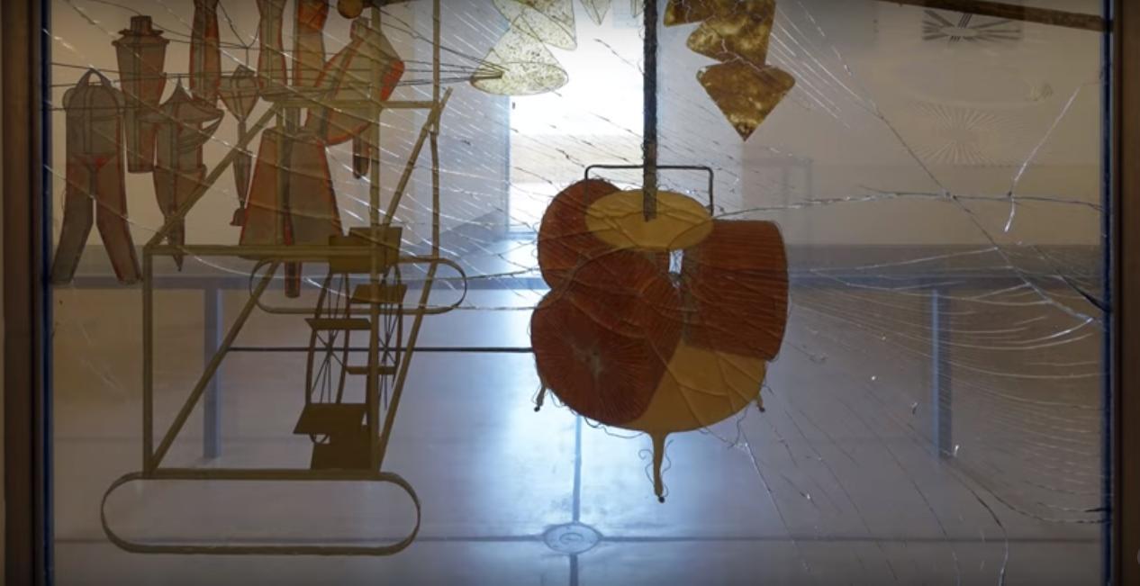 Veliko staklo, Duchamp, donji dio