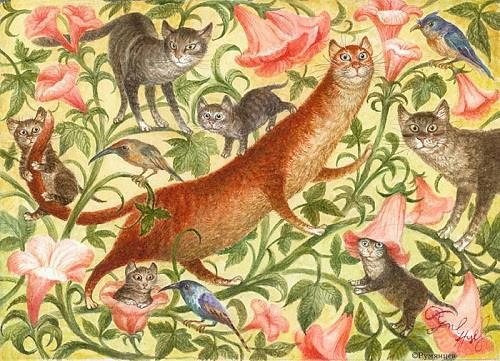 Izdužena mačka