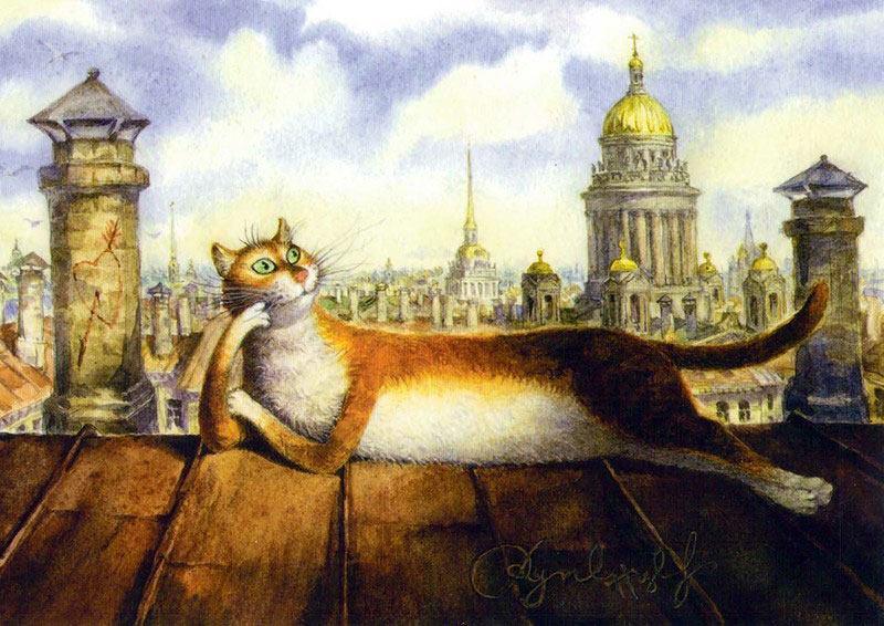 Mačka na krovu