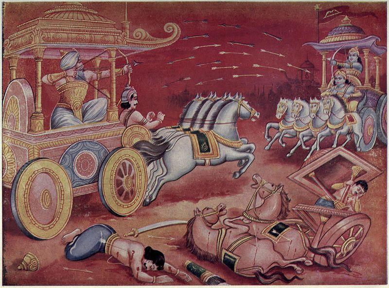 Bhisma i Arjuna