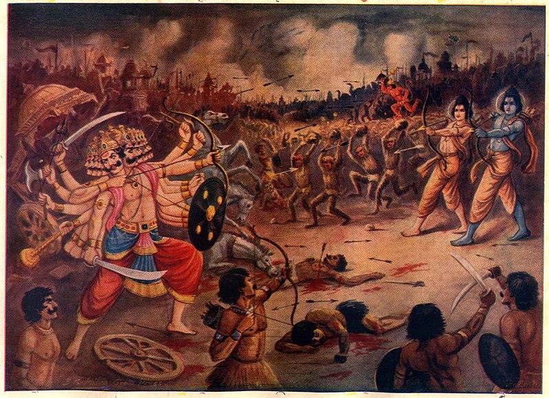 Bitka Rama i Ravana