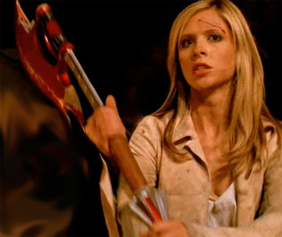 Buffy sa sjekirom