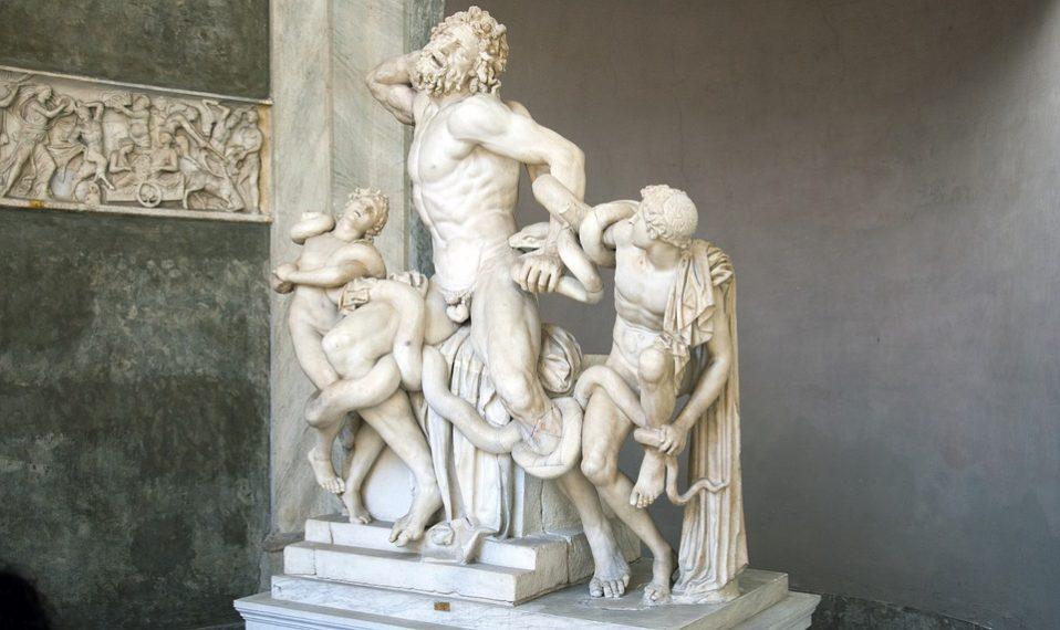 Grčka statua 1