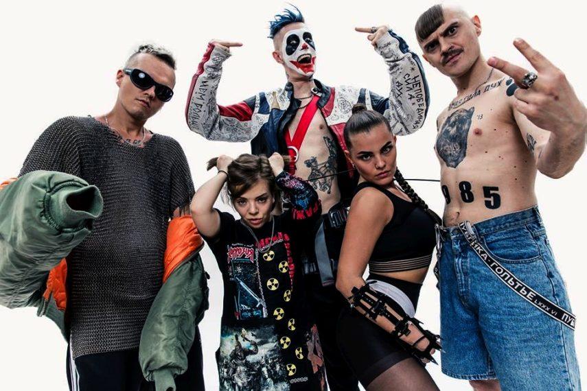 Grupa Little Big: klauni, Rusija, krv, penisi i patuljčice