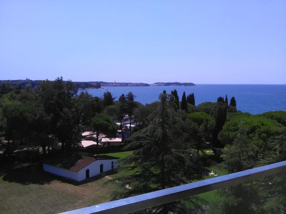 Materada pogled s balkona