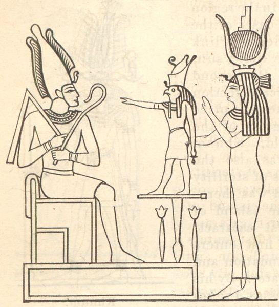Oziris, Horus i Isis