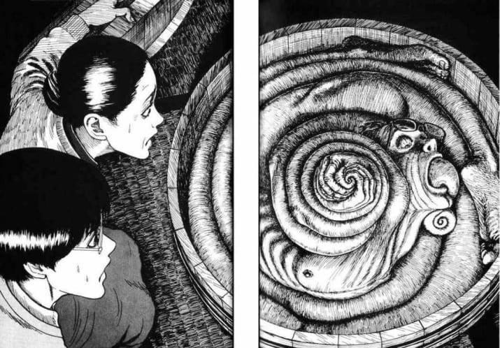 Uzumaki spiralno tijelo