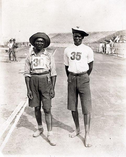 Crni natjecatelji Olimpijada 1904