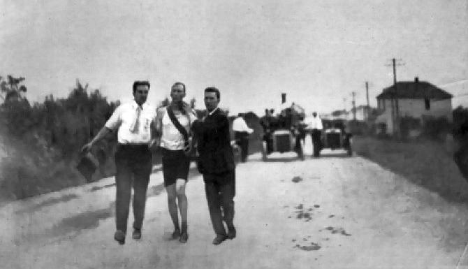 Hicks na cilju 1904
