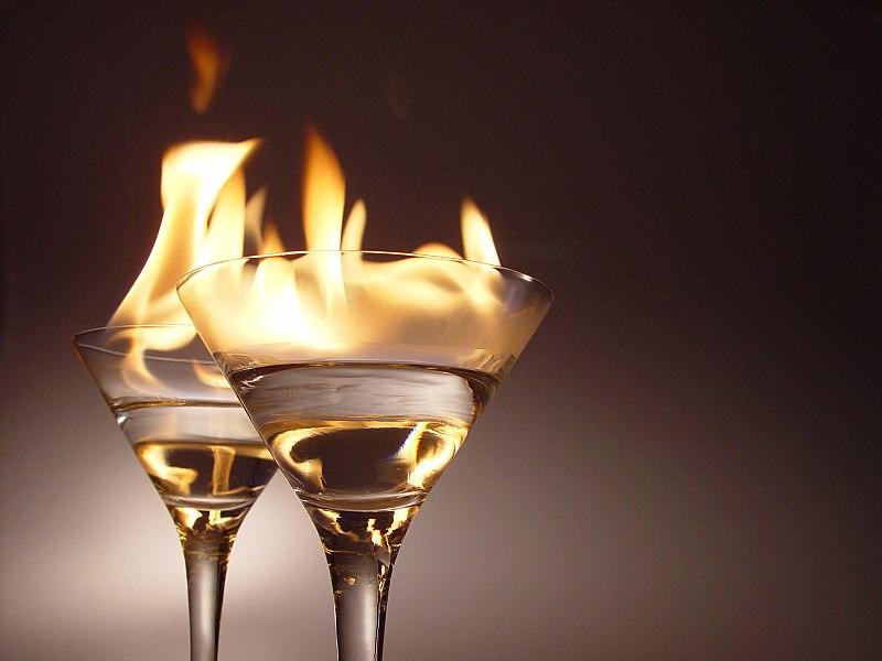 Kokteli plamen