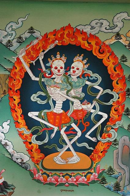 Tibet kosturi prikaz