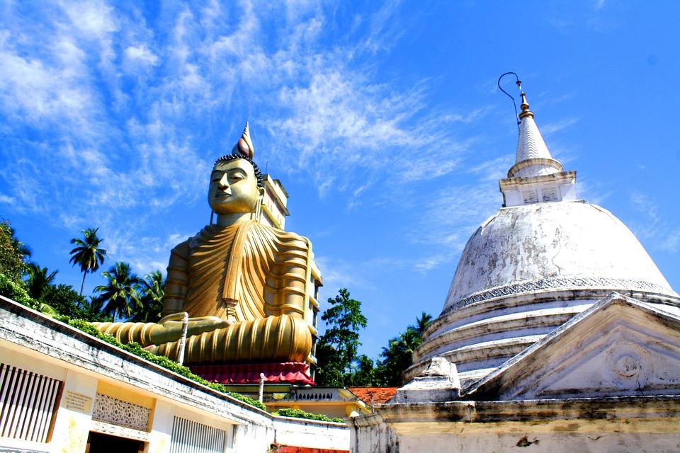 Buddhisticki hram na Ceylonu