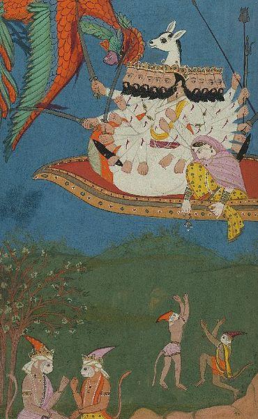 Ravana bjezi sa Sitom