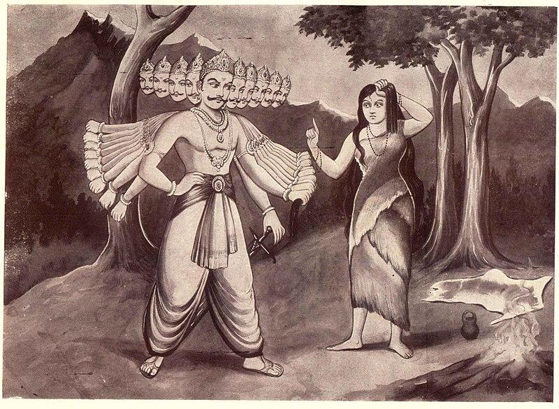 Ravana i Sita