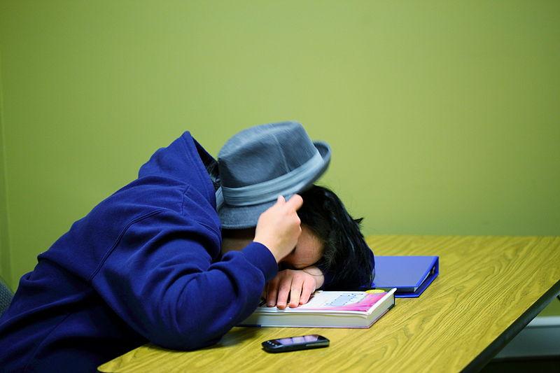 Ucenik spava 2