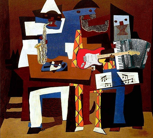 Picasso, 3 musicians