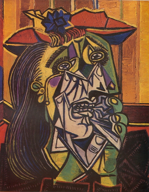 Picasso, Weeping woman