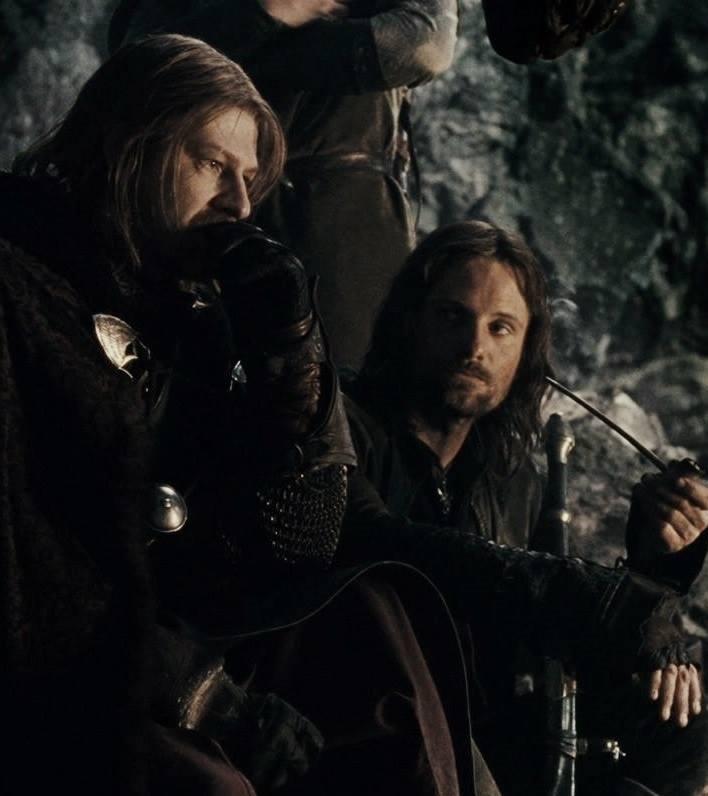Aragorn i Boromir