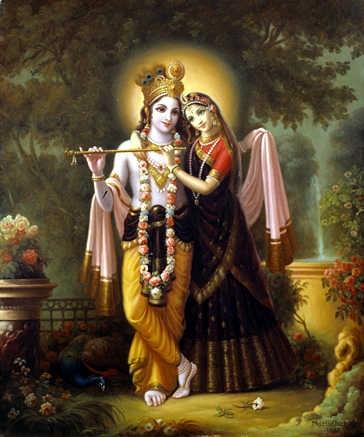 Krishna i Radha
