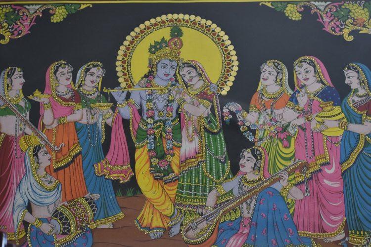 Krishna i gopike