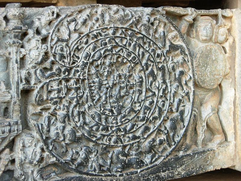 Labirint 5 hram Hoysaleswara Indija