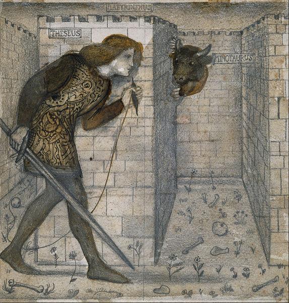 Labirint 6, Tezej i Minotaur