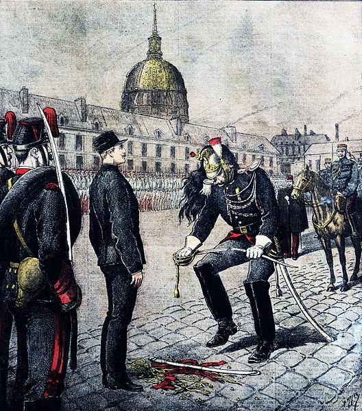 Alfred Dreyfus 2 oduzimanje pocasti