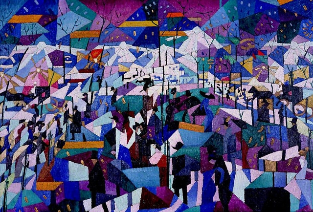 Gino Severini The Boulevard