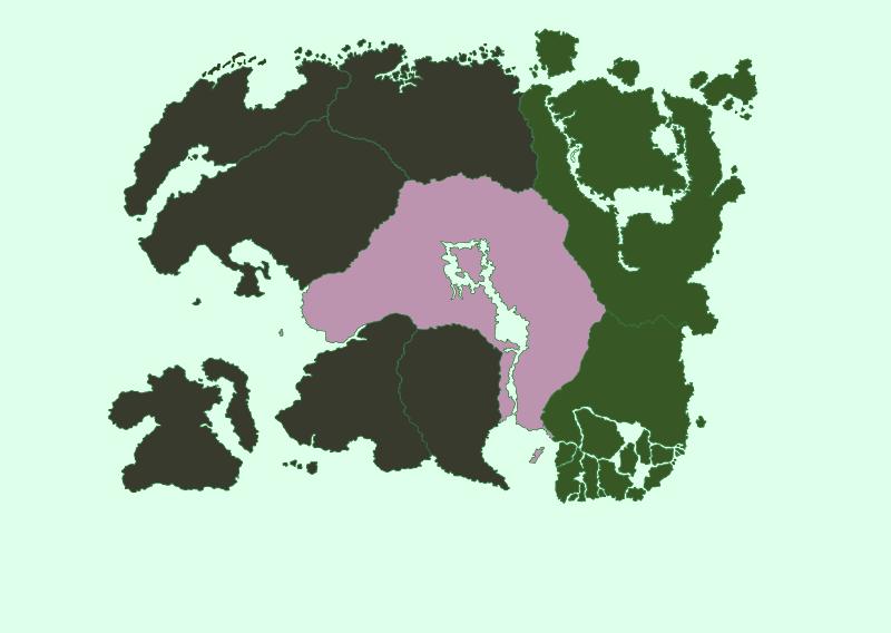 Tamriel Mapa