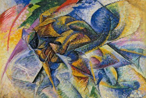 Najava velike futurističke izložbe u Muzeju suvremene umjetnosti