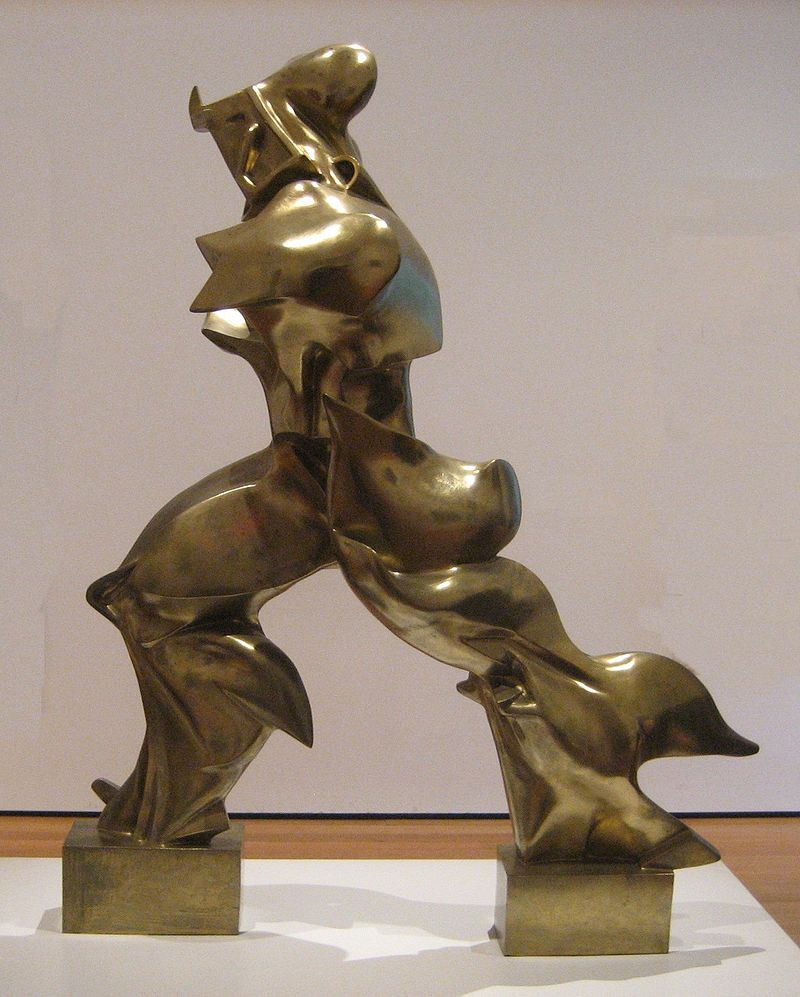 Umberto Boccioni, Unique Forms of Continuity in Space