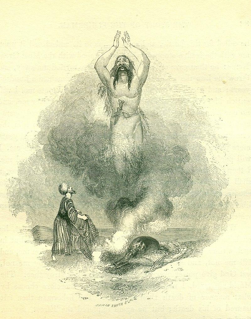 William Harvey, ilustracija iz 1001 noći