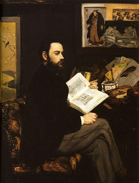 Zolin portret Edouard Manet