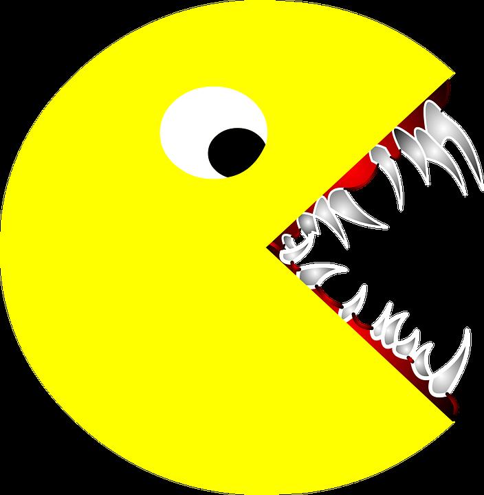 Pac Man zubi