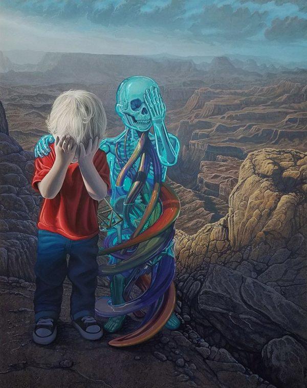 Nadrealne i metafizičke vizije mladog slikara Wileya Wallacea