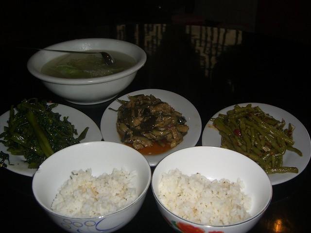 Vegetarijanski azijski obrok