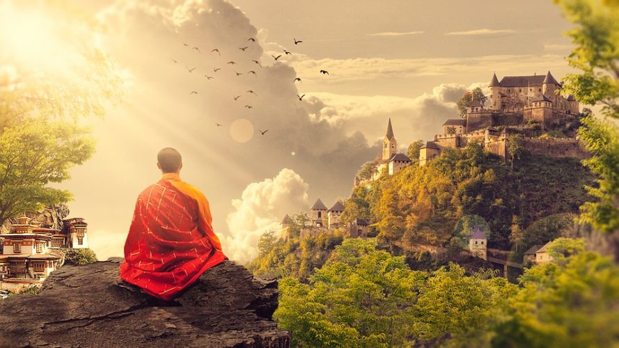 Redovnik meditacija