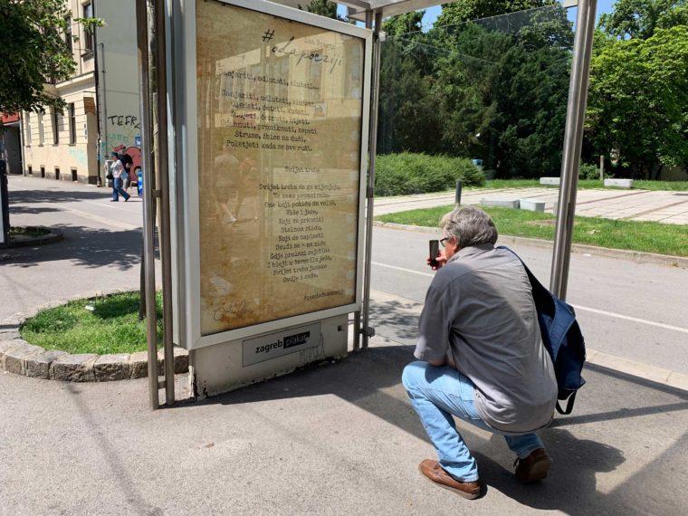 Savska čovjek fotka plakat Oda poeziji 2019
