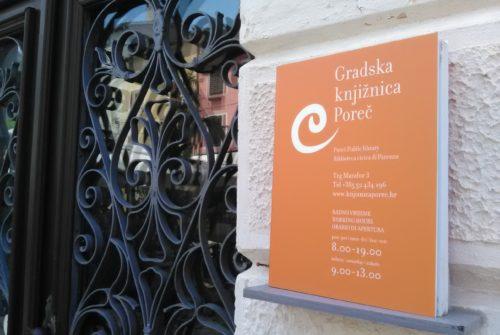 Turneja po knjižnicama, posebno izdanje: Razgledavanje Gradske knjižnice Poreč