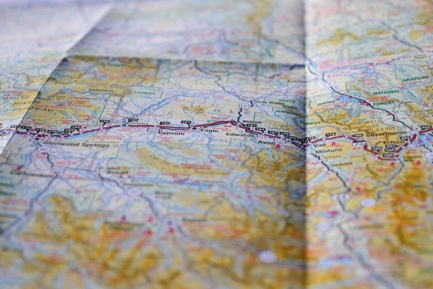 Mapa Izgubljena
