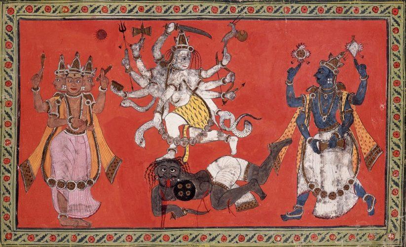 Brahma, Višnu, Šiva