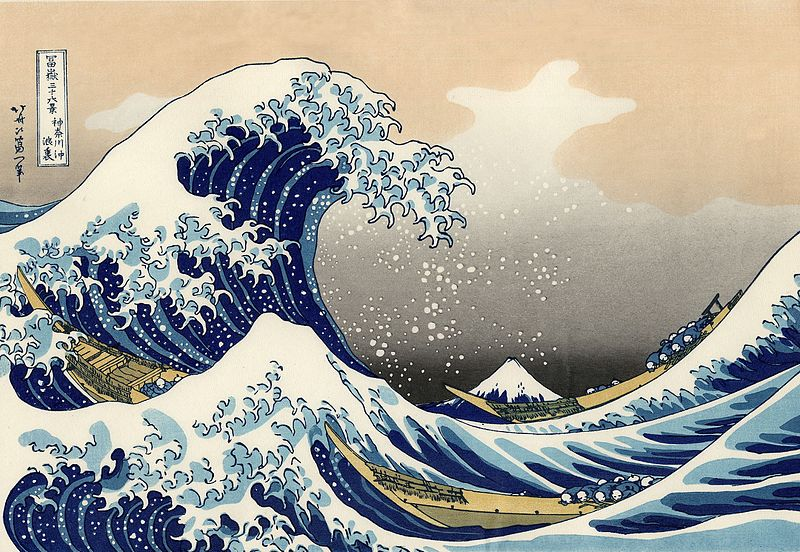 The Great Vawe Hokusai