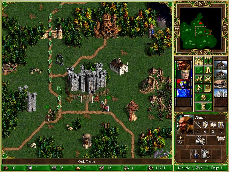 Heroes of MightHeroes of Might and Magic 3, sl 2 and Magic 3